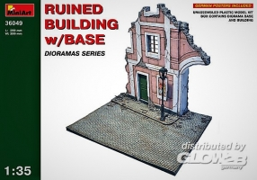 Ruined Building with Base in 1:35