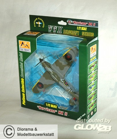Hawker Hurricane Mkii 87 Squadron 1942 In 172 Diorama Shop Weiß