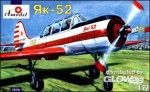 Yakovlev Yak-52 Soviet two-seat sporting aircraft in 1:72