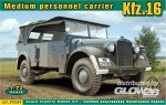 Kfz.16 medium personnel carrier in 1:72