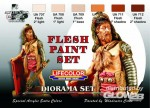 Flesh paint Color Set, Hautfarbe Set