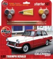Starter Set Med Triumph Herald (new) in 1:32