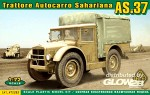 Trattore Autocarro Sahariano AS.37 in 1:72