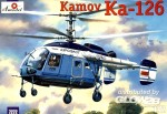 Kamov Ka-126 Soviet light helicopter in 1:72
