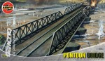 Pontoon Bridge, Pontoon Brücke in 1:76