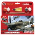 Hawker Typhoon 1B Kleines Einsteiger-Set in 1:72