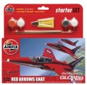 Red Arrows Gnat Kleines Einsteiger-Set in 1:72