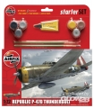 P47D Thunderbolt Medium Einsteiger-Set in 1:72