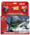 P51D Mustang Medium Einsteiger-Set in 1:72